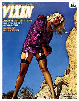 cd Collection of magazine covers of vintage top shelf adult magazines mature