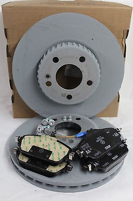 Genuine Mercedes-Benz W213 E-Class Saloon Estate Front Discs & Pads Kit NEW!
