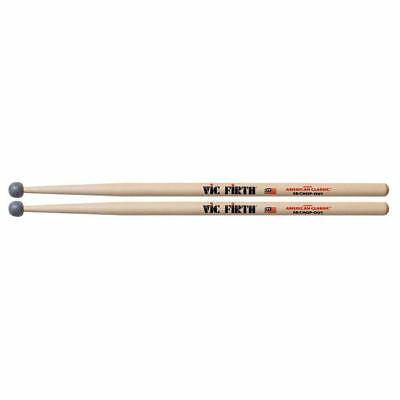 Vic Firth 5B American Hickory Chop Out Rubber Tip Drumming Practice Drumsticks