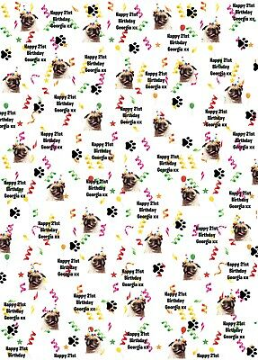 DIGGER Personalised Christmas Wrapping Paper A1 size!