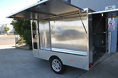 GO-KART ALUMINUM  TRAILER 2060mm /WIDE x 2700mm/LONG + NEW ALLOY WHEELS & TYRES