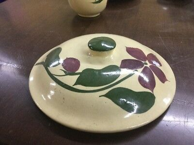 Watt Pottery Flower Lid