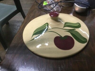 Watt Pottery Apple Lid
