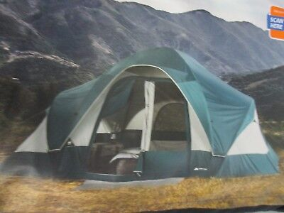 ~NEW~ Ozark Trail 8 Person C&ing Tent Family Outdoor Easy Setup & OZARK TRAIL ConnecTENT 8-Person 2-Dome Tent - $115.89 | PicClick