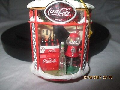 Coca Cola Limited Edition Brighten Up the Holidays with the Real Thing ornament