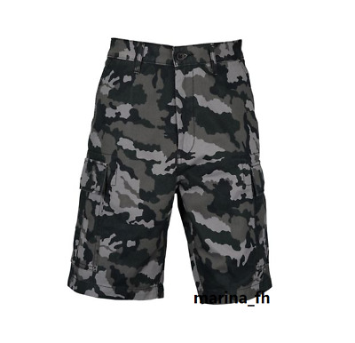 8877a098 NWT LEVI'S MENS Carrier Cargo Shorts Black Gridley Camo Size 31 ...