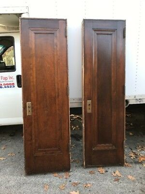 Hol 8 2Available Price Separate Antique Birch Passage Door In Jam 24 X 81