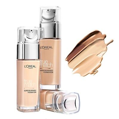 L'oreal Paris True Match Super- Blendable Foundation 24 Hours Hydration Spf 17