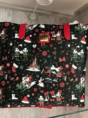 2017 Dooney & Bourke Disney Christmas Woodland Winter Tote NWT