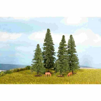 NOCH - 25232 - Fir Trees, 4 pcs, 8 - 12 cm high