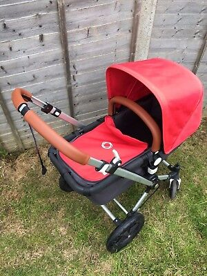 Bugaboo Cameleon Faux Leather handlebar and bumper bar covers