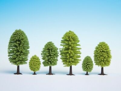 NOCH - 26902 - Deciduous Trees, 5 pieces, 5 - 9 cm high H0, TT