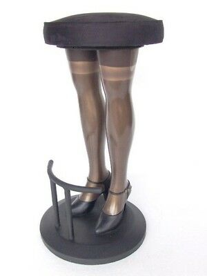 Lady Legs Bar Stool - Black Lady Legs Bar Stool - Restaurant - Bar - Home Decor