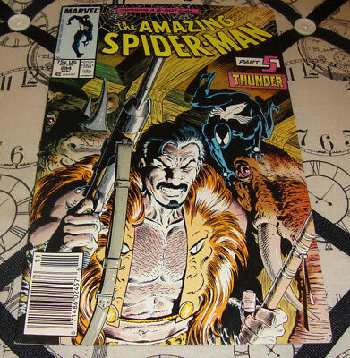 The Amazing Spider-Man #294 Kraven's Last Hunt Pt. 5 Rare Mark Jewelers Variant