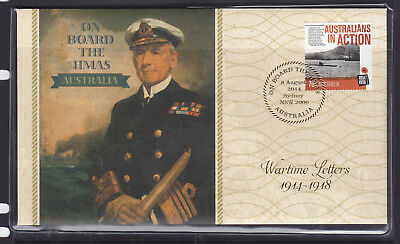 Fdc: 2014 Wartime Letters 1914-1818  Limited Edition  #363 Of 5000.
