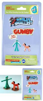 World's Smallest and coolest Gumby Pokey Collectible Gag Toy Bend Gumby any way