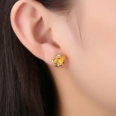 1 Pair Flower Shaped Ear Studs Lovely Stud Earrings For Women S Gifts Wy