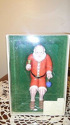 Hallmark Keepsake OrnamentsHoliday Old Fashioned Santa NIB