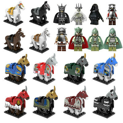 The new Hobbit Lord of the Rings Mini figure King Building Blocks Children Toys
