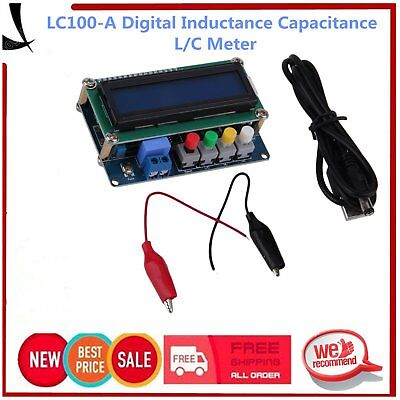LC100-A High Precision Digital Inductance Capacitance L/C Power Meter Board XL