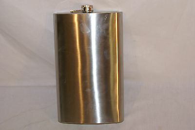 64oz Jumbo Stainless Steel Flask awesome novelty gift or party supply