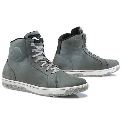 Forma Slam Dry motorcycle boots, mens, grey, all sizes, urban, city, street