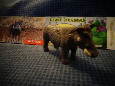 Yowies Series 2 UK YOWIES, * WARTHOG  + PAPERS