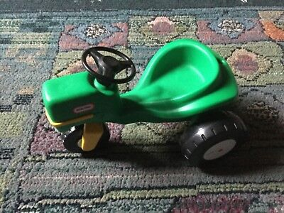 Little Tikes green tractor