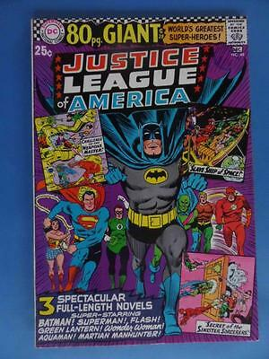 Justice League America 48 1966 80 Page Giant High Grade!!
