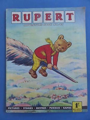 Rupert Adventure Book 49 Very Nice Rare!
