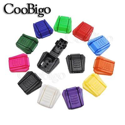 Mixed Colorful Zipper Pull Cord Ends Lock Paracord Bag Cord Rope Accessories