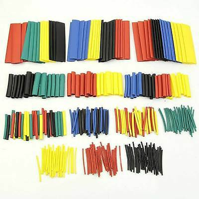 1 Pack 328pcs Car Electrical Wire Heat Shrink Tubing Tube Wrap Sleeve Cable Kit·