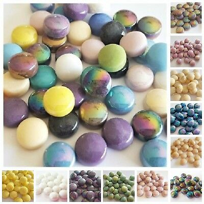 Glass Smarties Iridescent 12mm - Choose your Colour