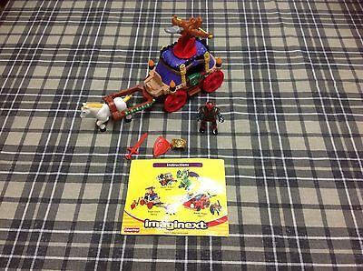 Fisher Price Imaginext system; Royal Coach