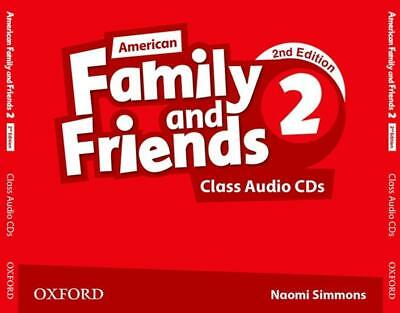 American Family and Friends 2. Class Audio CDs, Naomi Simmons
