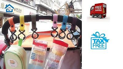 Wholesale New Plastic Baby Stroller Pram Pushchair Hanger Hanging Package Hooks