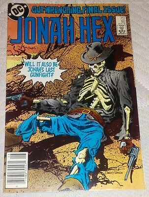Jonah Hex (1977 1st Series) #92 - In Great Condition - Last Issue