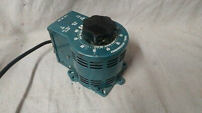 Staco Variac 2PF1010 Variable Transformer Tested Good Condition