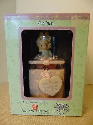 Precious Moments A Mom's Love is the Best Gift Of All Covered Box With Two-Sided
