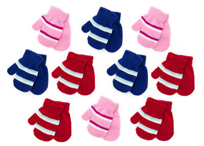 NEW 2 pack Baby Mittens Gloves Girls/Boys,Winter Warm 12-24months,Christmas Gift