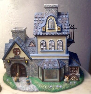 Old World Christmas Village Candle Shop