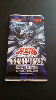 Yu-Gi-Oh! Premium Pack Vol.1 1 Booster korean