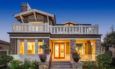 MODERN CRAFTSMAN HOUSE PLANS - Construction Ready Plans, Includes Structural