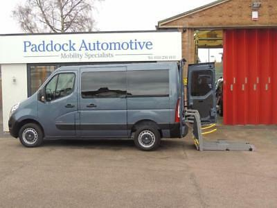 Renault Master SL30 DCi Automatic Wheelchair Adapted Disabled Vehicle WAV