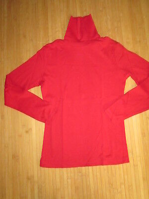 Tee-shirt col roulé rouge,ML,T42/44,marque Influx,NEUF!