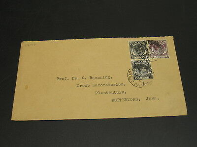 Singapore 1939 cover to Java *1277