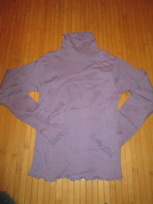 Tee-shirt col roulé Violet,ML,T6ans,marque In Extenso,NEUF!