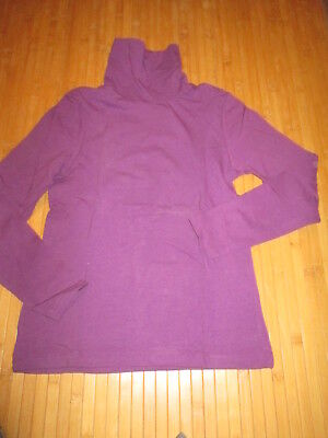 Tee-shirt col roulé Violet,ML,T7/8ans,marque Pepperts,NEUF!