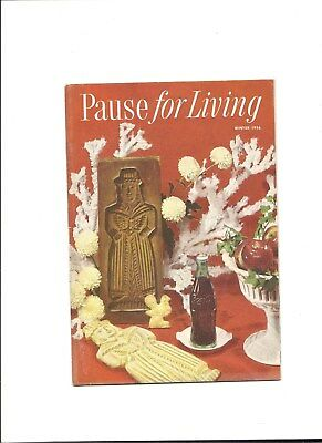1956 (Winter)  Coca-Cola Booklet Pause for Living Vol. 3 No. 2