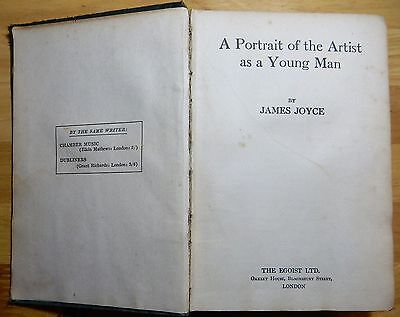 """an overview of james joyces a portrait of the artist as a young man In 1916 a portrait of the artist as a young man appeared  the year after the joyces returned to  """"james joyce was and remains almost unique among."""